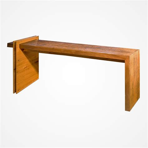 Wooden L Bases by L Console Wood Base Rotsen Furniture