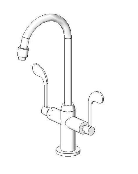 Kohler Health Faucet by Revitcity Object Kohler Sink Faucet