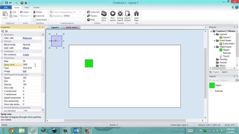 construct 2 particle tutorial construct 2 intermediate particles youtube