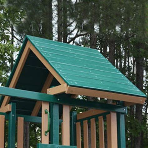 swing set roof wooden roof upgrade for congo monkey playsets