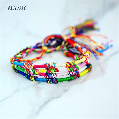 Handmade Friendship Bracelets For Sale - aliexpress buy weave rope string friendship