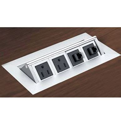 Mho Power Data Distribution Center Desk Outlets