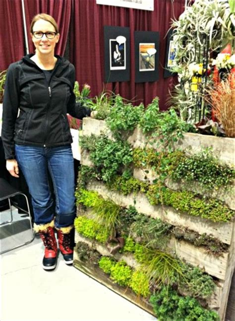 how to build a vertical pallet garden creating a pallet garden step by step don