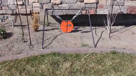 diy steel target stand diy collapsible steel target stand for your gong doovi