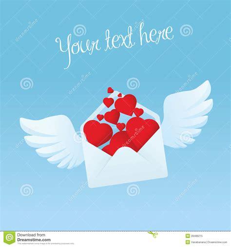 V C Oe Envelope o envelope do v 244 o asas encheu se os cora 231 245 es vermelhos