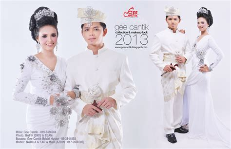 Baju Nikah Untuk Lelaki koleksi baju pengantin gee cantik professional makeup artist gee cantik