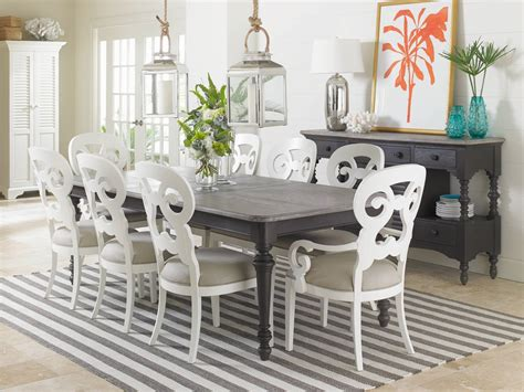 Coastal Living Dining Rooms by Coastal Living Dining Room Rectangular Leg Table 411 21 31