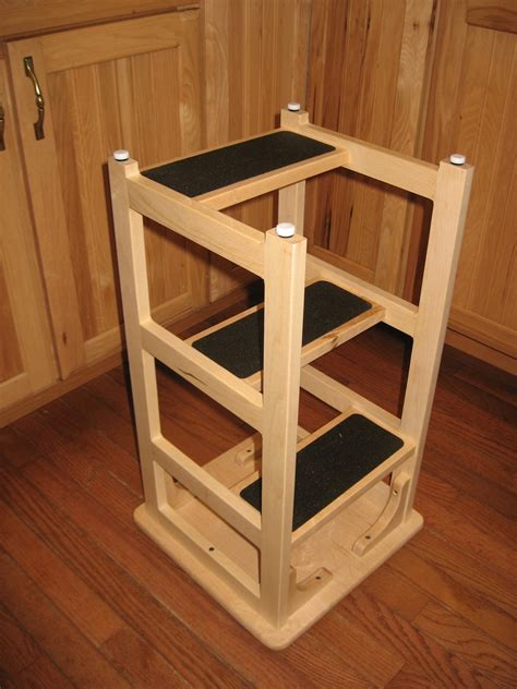 Hoosier Cabinet by Stan S Hoosier Step Stool The Wood Whisperer