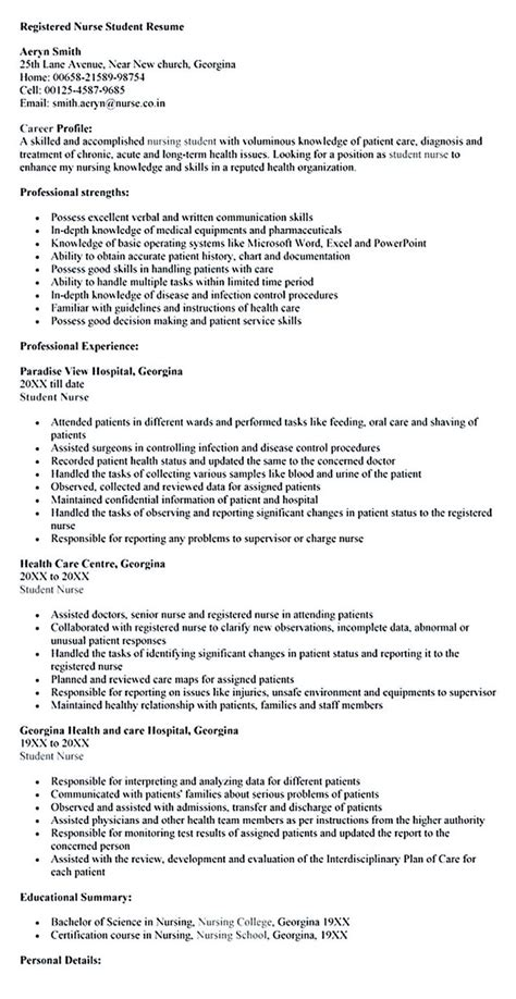 skills resume exles nursing best 25 nursing resume ideas on registered resume nursing resume exles