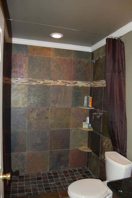 Redoing Bathroom Shower Bathroom Redo Shower Surround For The Home