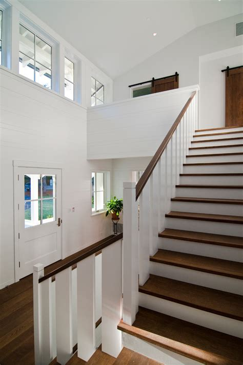 inspired stair railing vogue san francisco contemporary staircase image ideas  banister