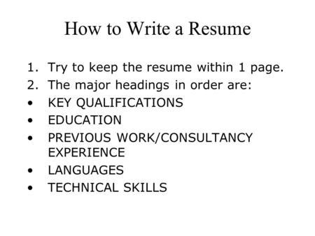 cv writing session your way toward professional resume by
