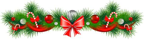 xmas swag png free garland clipart the cliparts clipartix