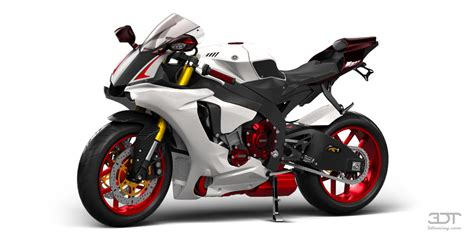 Unique Painting 3dtuning of yamaha yzf r1 sport bike 2015 3dtuning com