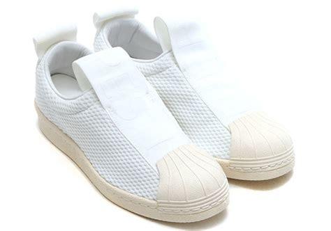 adidas superstar slip on mesh by9138 sneakernews