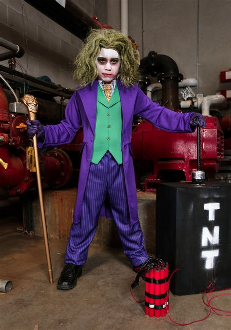 joker costume deluxe child joker costume
