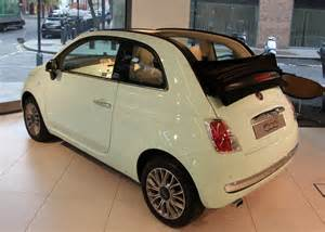 Fiat 500c Green Fiat S Mouse Grows Up At Smmt Smmt