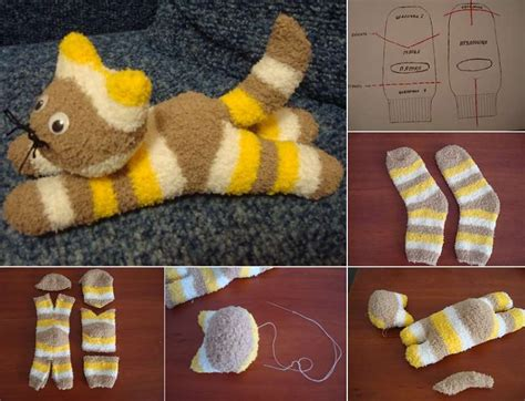 easy diy how to make sock kitten at home