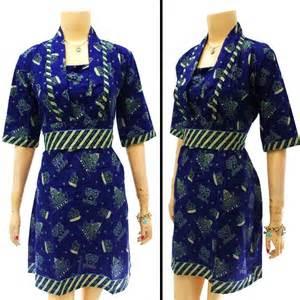 gambar baju dress batik modern model baju batik