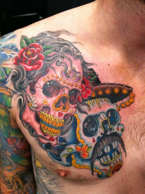 dia de los muertos tattoo 3 inky beer