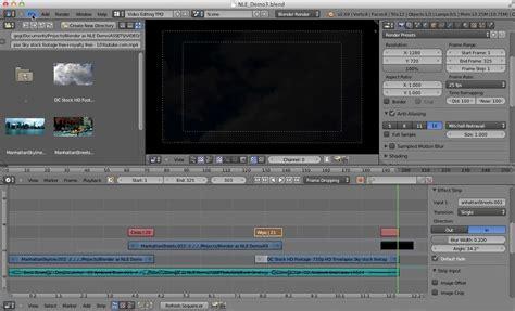 tutorial video editing blender video editing in blender transitions blendernation