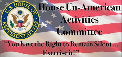 the house un american activities committee print tap chapter 26 flashcards easy notecards