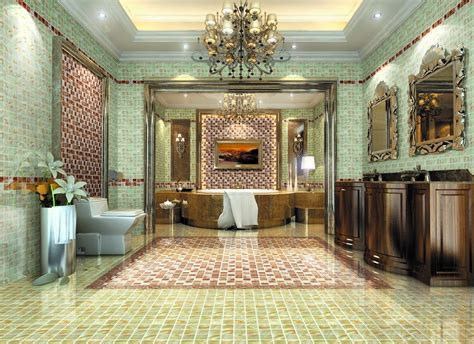 Luxury Bathroom Interior Design by Villa Luxury Bathroom Interior Design By European Style