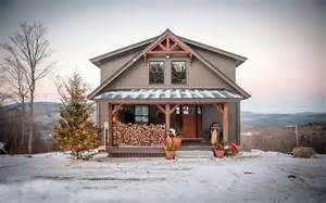 barn homes for happy holidays from yankee barn homes
