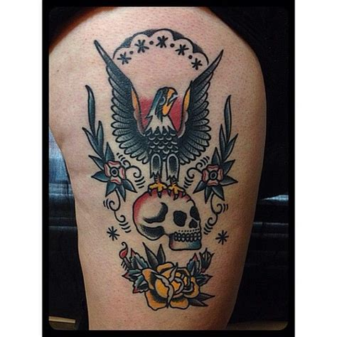 christian eagle tattoo christian lanoutte as featured on swallows daggers www