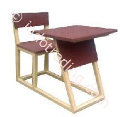 Kursi Kayu Siswa jual meja kursi ekonomi 1 mke 1 meja dan kursi untuk