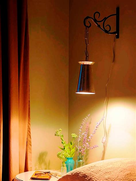 Bedside Wall Sconce How To Make An Upcycled Wall Light How Tos Diy
