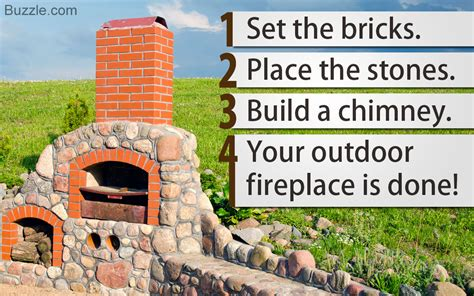 learn how to build an outdoor fireplace step by step right here