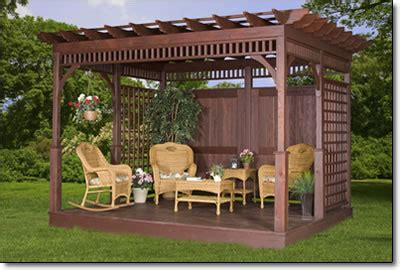 gazebo shop amish gazebo shop ivywood wood pergolas