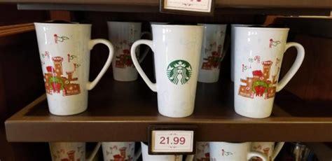Starbucks Dw Mug Snowflakes 2017 Collection new disney starbucks ceramic mug and ornament