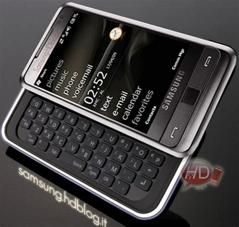 basic samsung qwerty phone with flash samsung omnia pro to pack qwerty keyboard hit the market