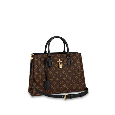 flower tote louis vuitton monogram handbag  women