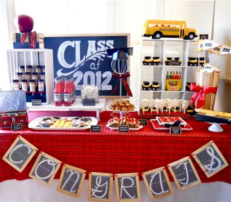 themes college 25 graduation party themes ideas and printables