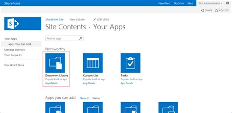 What Is A Document Library In Sharepoint 2013