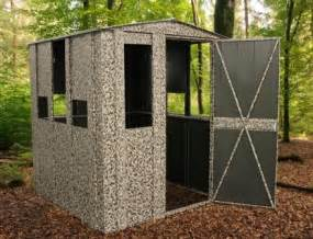 Bow Blind Windows hunter shack steel hunting blind
