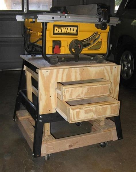 portable table saw stand by jerrells lumberjocks com woodworking community