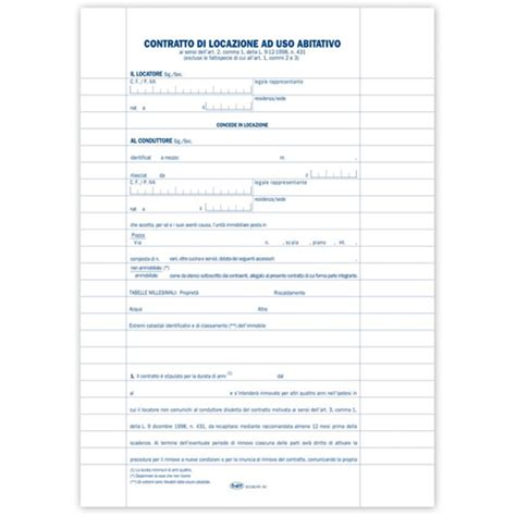 contratti di locazione uso ufficio prodotto 8528l9900 locazione contratto di locazione