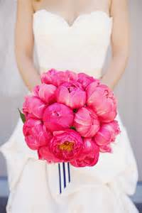 pink peonies wedding 25 stunning wedding bouquets best of 2012 belle the magazine