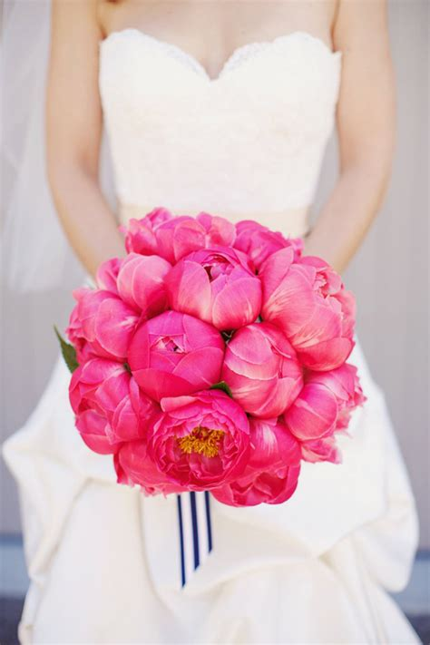 pink peonies wedding 25 stunning wedding bouquets best of 2012 belle the