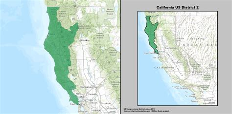 map of oregon 2nd congressional district california s 2nd congressional district
