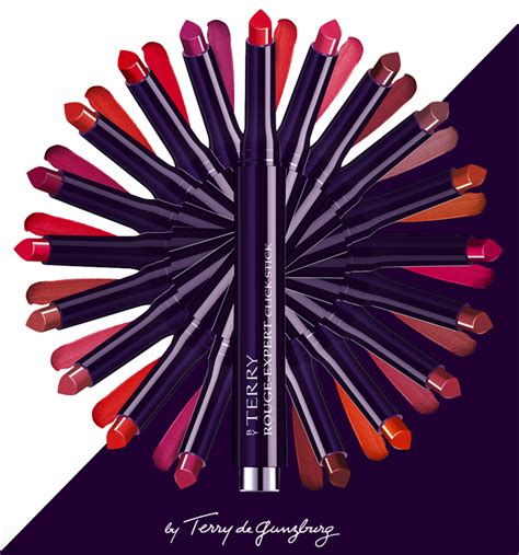 by terry rouge expert click stick allows for precise definition with by terry rouge expert click stick allows for precise