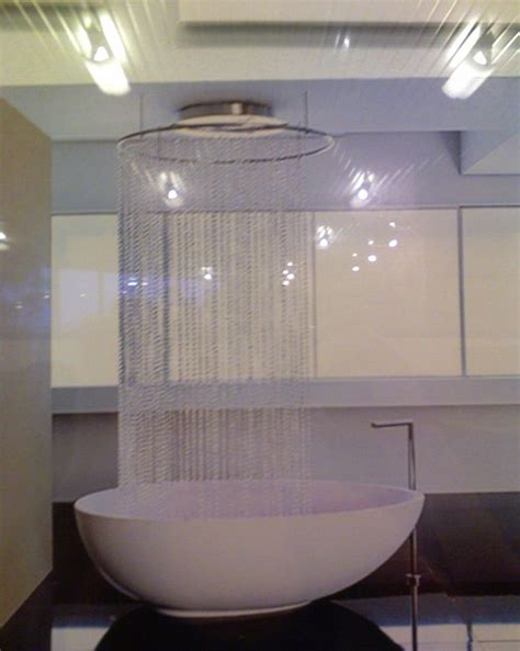 free standing bath shower curtain glass beads for shower curtains create serious drama in