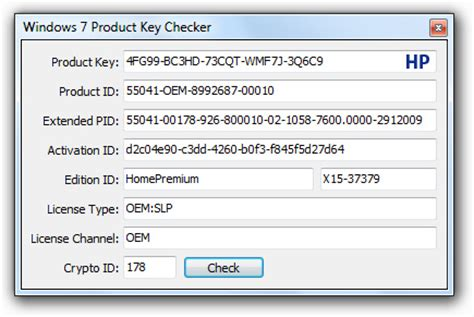 windows home premium product key code overclock