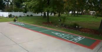Backyard Basketball Court Price Shuffleboard Court Builder Outdoor Shuffleboard Amp Other