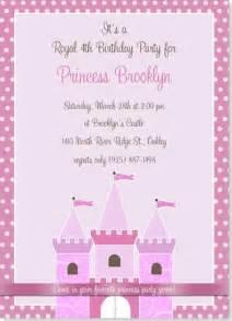 princess birthday invitations theruntime