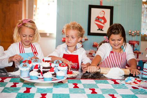 north pole baking party evite